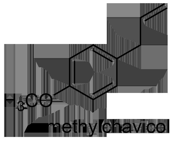 パチョリ 化学構造式2