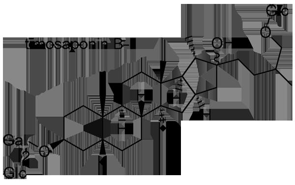 ハナスゲ 化学構造式3