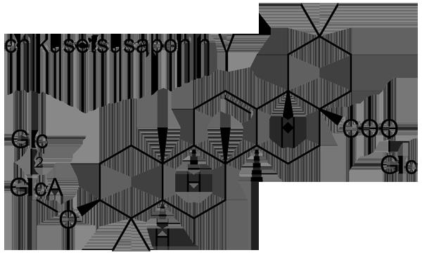 ヒナタイノコズチ 化学構造式2