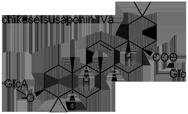 ヒナタイノコズチ 化学構造式3