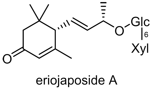 ビワ 化学構造式2