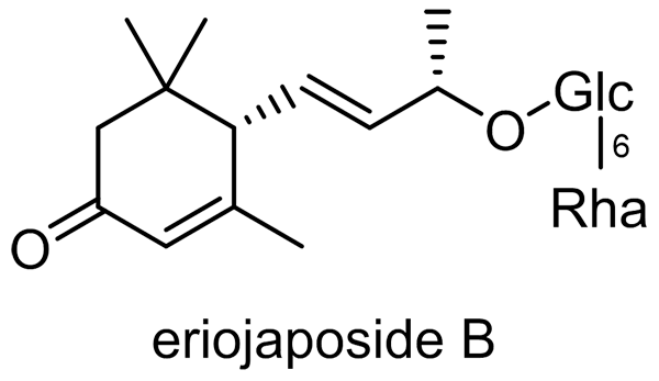 ビワ 化学構造式3