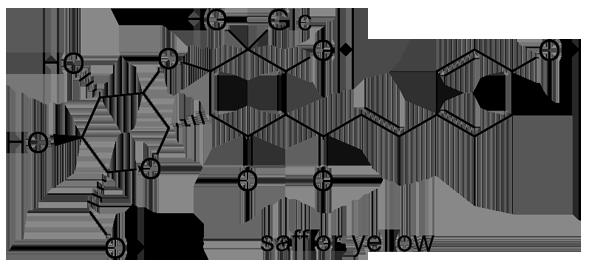 ベニバナ 化学構造式2