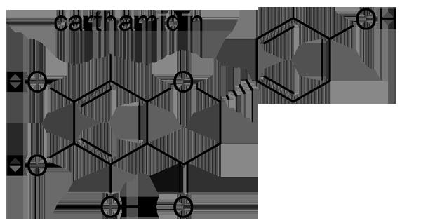 ベニバナ 化学構造式3