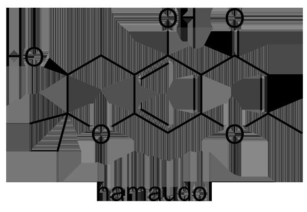 ボウフウ 化学構造式2