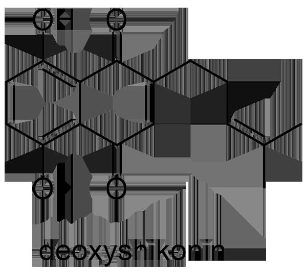 ムラサキ 化学構造式2