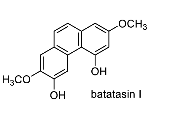 ヤマノイモ 化学構造式3