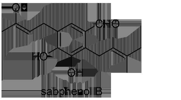アオカズラ 化学構造式2