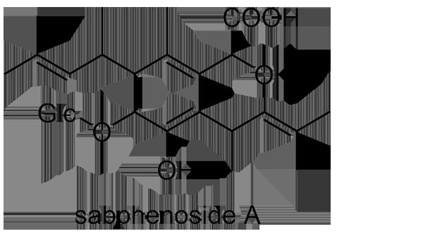 アオカズラ 化学構造式3