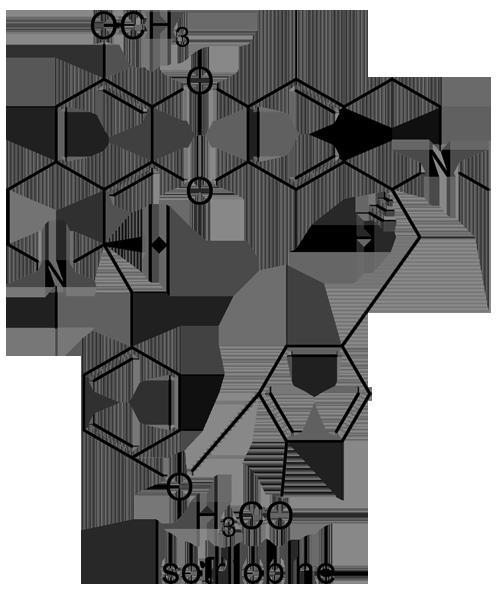 アオツヅラフジ 化学構造式3