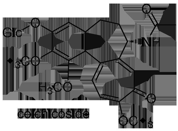 イヌサフラン 化学構造式2