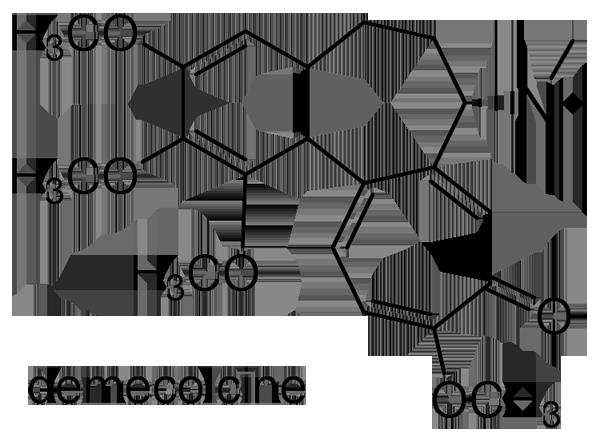 イヌサフラン 化学構造式3