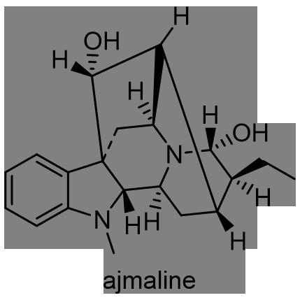 インドジャボク 化学構造式2
