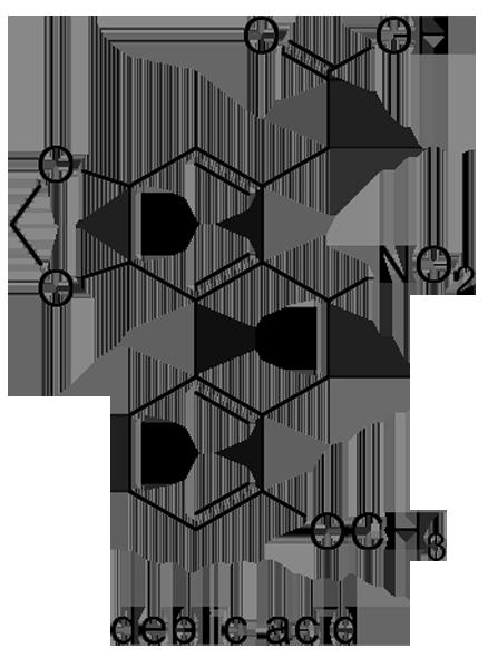 ウマノスズクサ 化学構造式2