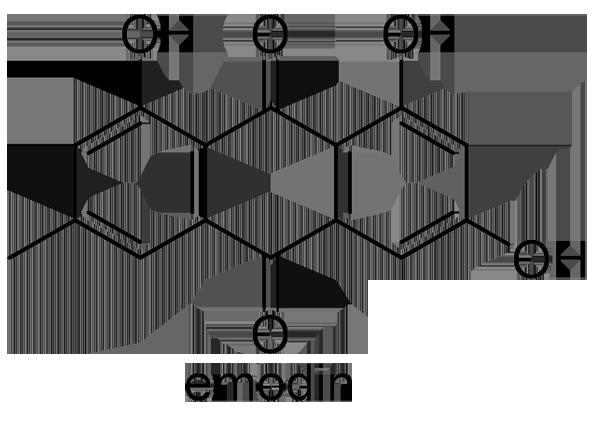 エビスグサ 化学構造式2