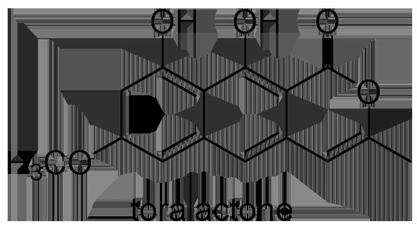 エビスグサ 化学構造式3
