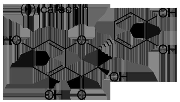 エビヅル 化学構造式2