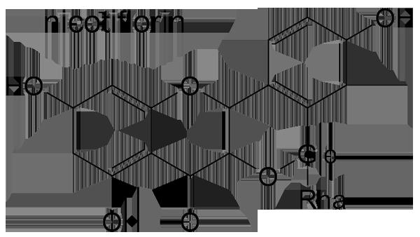 カギクルマバナルコユリ 化学構造式2