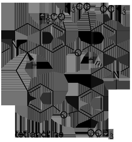 コウモリカズラ 化学構造式2