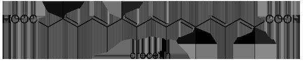 サフラン 化学構造式2