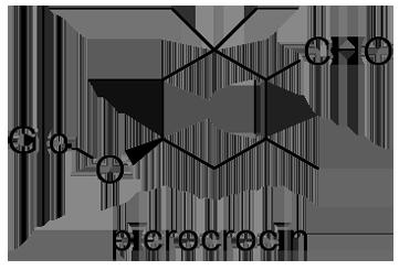 サフラン 化学構造式3