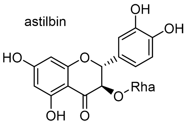 サルトリイバラ 化学構造式3