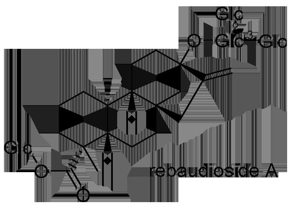 ステビア 化学構造式2
