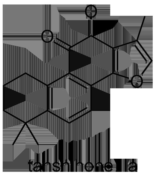 タンジン 化学構造式2