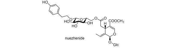 トウネズミモチ 化学構造式3