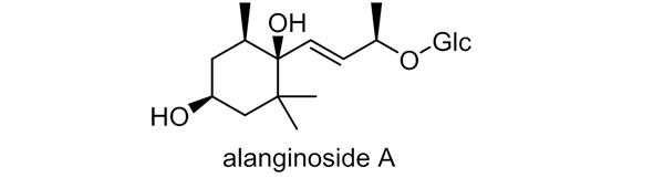 トキワマンサク 化学構造式3