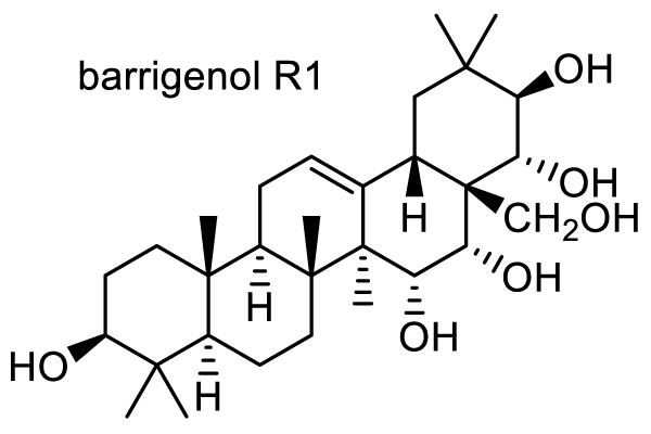 トベラ 化学構造式2