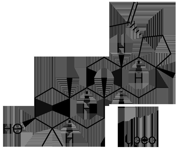 ナワシログミ 化学構造式3