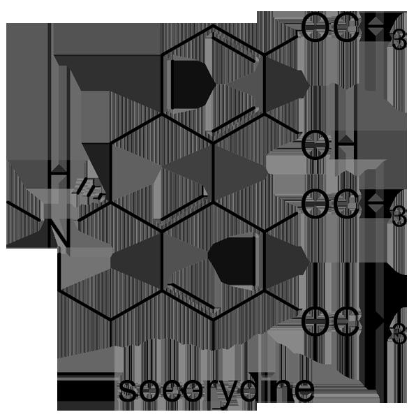 ナンテン 化学構造式2