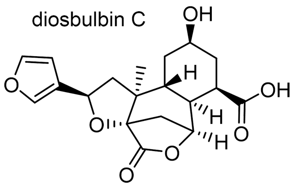 ニガカシュウ 化学構造式3