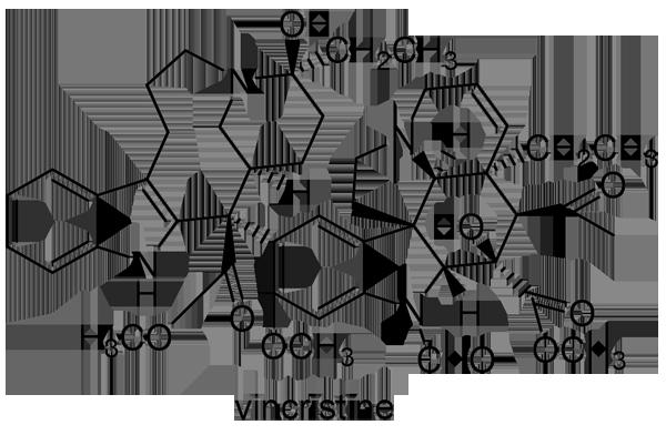 ニチニチソウ 化学構造式2