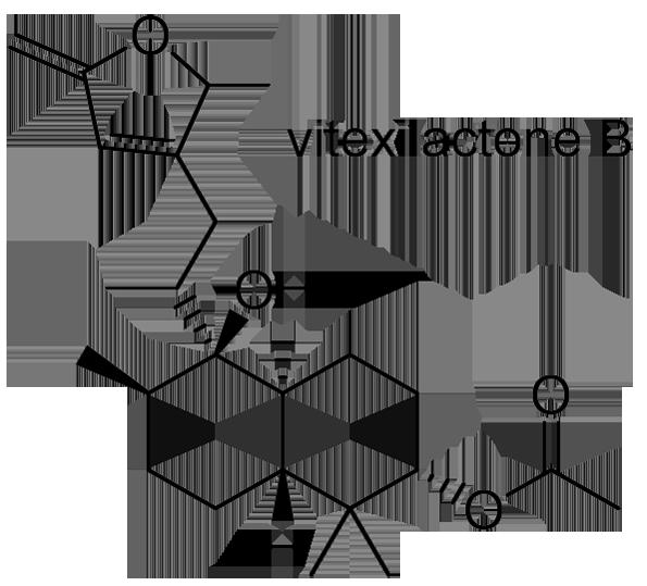 ニンジンボク 化学構造式3
