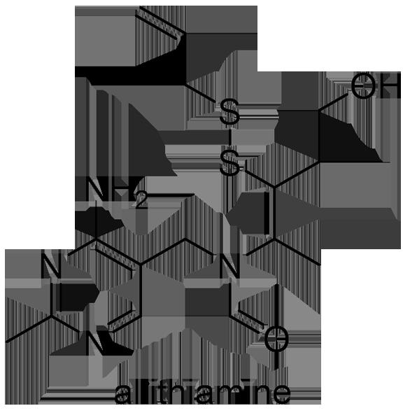 ニンニク 化学構造式3