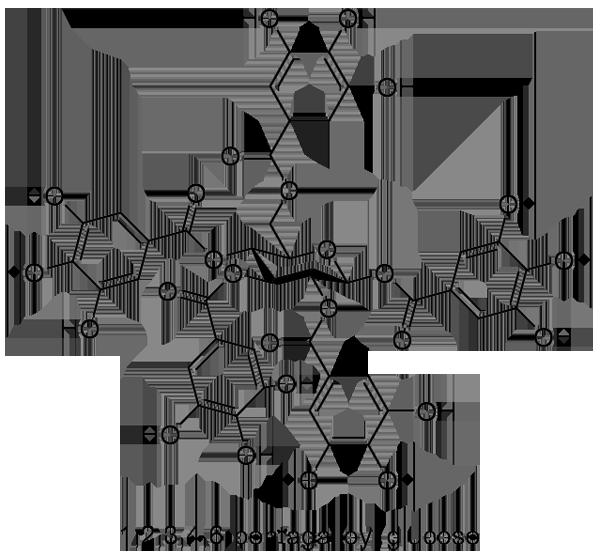 ヌルデ 化学構造式2