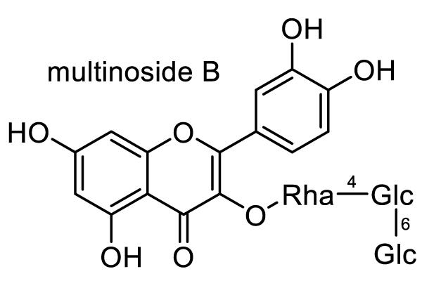 ノイバラ 化学構造式3