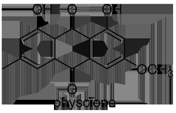 ハブソウ 化学構造式2