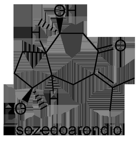 ハルウコン 化学構造式3