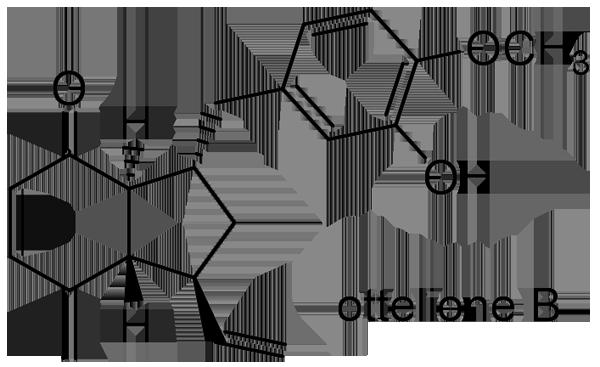 ミズオオバコ 化学構造式2