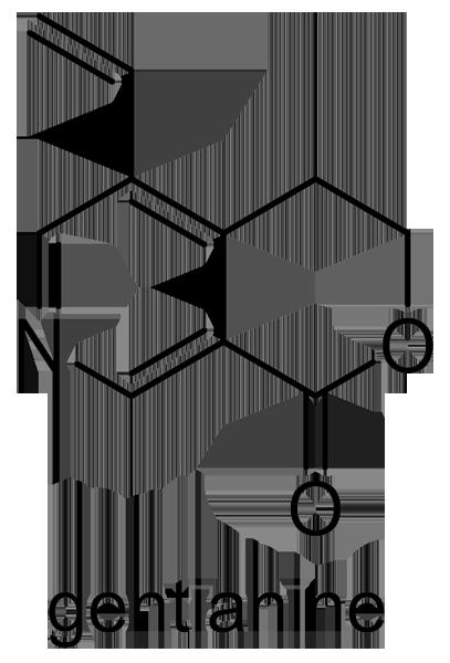 ミツガシワ 化学構造式2
