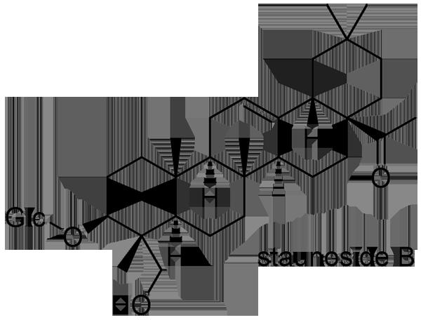 ムベ 化学構造式2