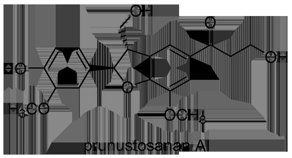 ユスラウメ 化学構造式2