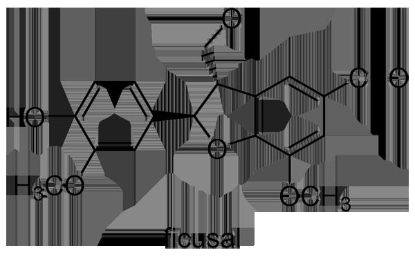ユスラウメ 化学構造式3