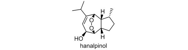 アオノクマタケラン 化学構造式3