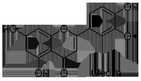 イヌクログワイ 化学構造式2