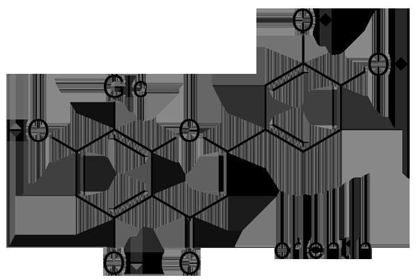 イロハモミジ 化学構造式2