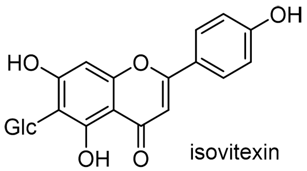 イロハモミジ 化学構造式3
